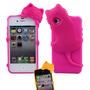 Capa Para Iphone 4 4s Gatinho Kiki Case Silicone Top Luxo Ml