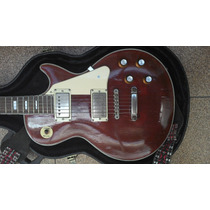 Queima Total Guitarra Giannini Com Logo Gibson