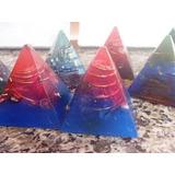 Orgonite Piramide Tower Buster Com 6 Cm - Orgonites Brasil