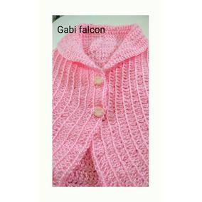 Chaleco Beba Tejido A Crochet
