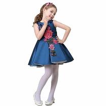 Vestido Para Niña De Fiesta Elegante Pajecita Hermoso