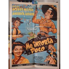 Poster Original Me Importa Poco Miguel Aceves Mejía Infante