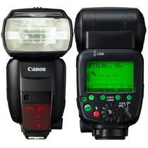 Flash Canon Speedlite 600ex Rt Original +brindes