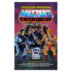 Tradings Cards Catalogo Argentino He-man Top Toys Motu