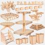 Kit Provençal Comprar Noivado Decoração Mesa Em Mdf Luxo