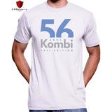 Camiseta Kombi 56 Anos Edição Limitada Volkswagen - Algodão