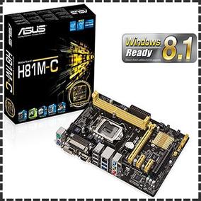 Placa Mãe Asus H81m-c Core I3 I5 I7 Socket 1150 (4ª Geração)