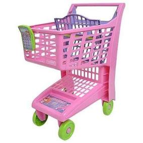 Carrinho Compras Market Rosa - Magic Toys