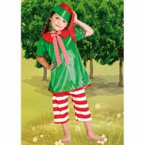 Disfraz Duende Verde Nena Original Disfraces Candela Calidad