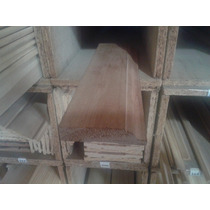 Zocalo 3/4 X3 Simil Cedro Moldurado