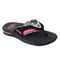 Chinelo Reef Girls Fanning Preto