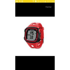 Relógio Gps Garmin Forerunner 15 Novo Grande