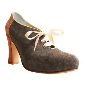 Zapatos Mocasines Stilettos De Cuero De Mujer Taco Alto