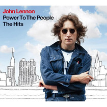 John Lennon Power To The People The Hits Cd