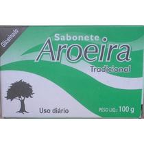 Sabonete De Aroeira- Barras- Kit C/ 12 -brinde -frete Barato