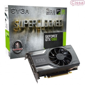 Nvidia Evga Gtx 1060 Sc Gaming 3gb Acx 2.0 Pci-express 3.0