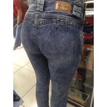 Pantalon Dama Mezclilla Silver Body Stone Sponge 2554 T 5-15