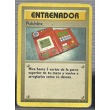 Carta De Pokemon Entrenador Pokedex