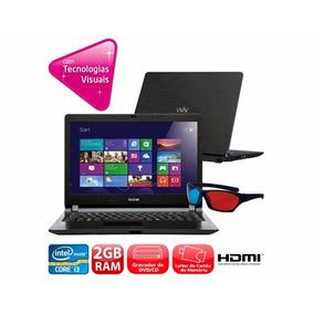 Notebook Cce N325 Core I3-3217u 2gb 500gb - Imperdível!