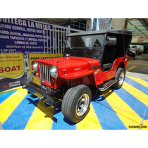 Jeep Willys Cj 3