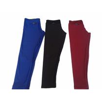 Kit 03 Calca Leg Plus Size Leggi Cores Lisas Atacado Revenda