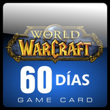World Of Warcraft Tarjeta Prepago De 60 Dias (us) Nueva