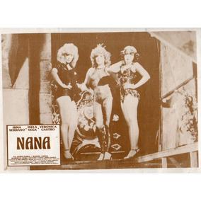 Cartel Nana Isela Vega Veronica Castro Irma Serrano 1985