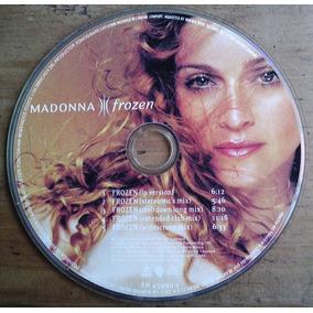 Madonna Frozen Cd Single Picture Mexicano C/5 Versiones Bvf