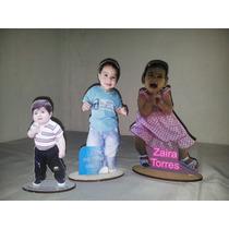 Souvenir Centro De Mesa- Figura Fibro Facil Personalizada.