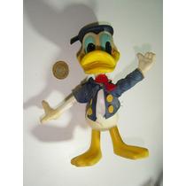 Antiguo Muñeco Figura De Pato Donald De Wdp