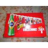 Coleçao Mini Garrafinhas Coca Cola Copa 2014