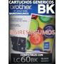 Cartucho Lc-60 Alternativo Negro Btr Dcp J125/j140 Mfc J410