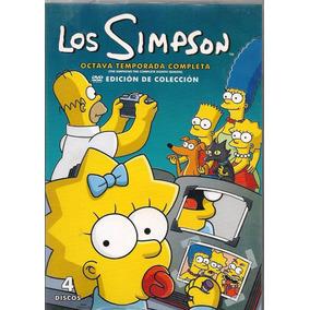 Los Simpson Temporada 8 Ocho Serie De Tv En Dvd
