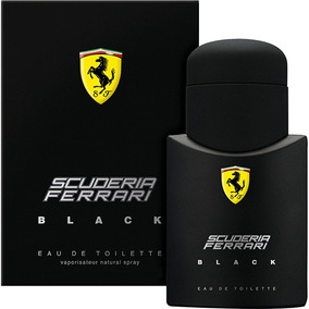 Perfume Ferrari Black 125ml (original)