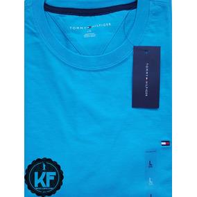 Camiseta Básica Gola Redonda - Tommy Hilfiger Original