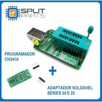 Gravador Usb Flash Eprom Spi Bios Series 24xx 25xx Receptor