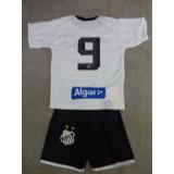 Kit Infantil Santos - Camisa + Short - Pronta Entrega