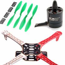 Kit Dron F450 Q450 Motores Black Widow 2216 Esc 18a Propelas