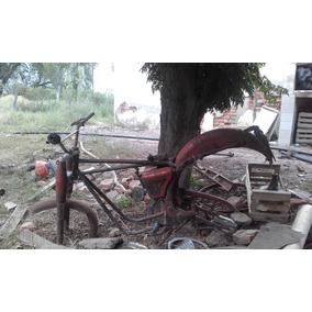 Cuadro De Moto Antigua