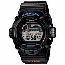 Relógio Casio G Shock Gwx 8900-1 G Lide Tábua De Mares