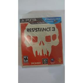 Jogo Ps3 Resistance 3 (3d) (black Label) - Novo E Lacrado