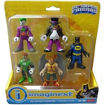 Imaginext Dc Super Friends Fisher Price Batman Robin Flash