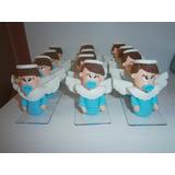 Anjinhos Em Biscuit Apliques Para Lembrancinhas De Batizado
