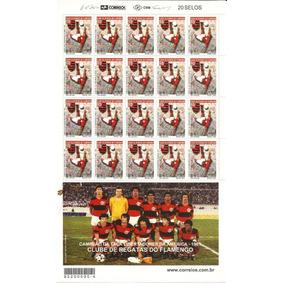 Futebol-folha Inteira Do Time Flamengo Com Apendice Time