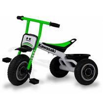Triciclo Max Niños Nene Kawasaki Estructura Metalica + 20 Kg