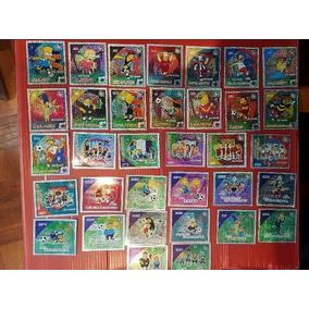 34 Stickers Simpsons Sabritas Tazos Gamesa Coca Cola Sonrics