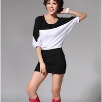 Blusón Blusa Vestido Corto Casual Moda Japonesa Fashion 1233