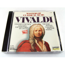 Vivaldi / Masters Of Classical Music Vol 7 Cd Ed1988 Imp Usa
