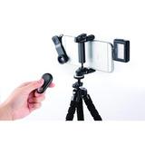 Kit P/ Celular Lentes Control Led Microfono Tripode Estuche