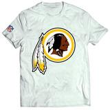 Camisa Camiseta Washington Redskins Blusa Índio Nfl Futebol
